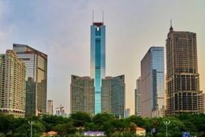 广州曾经的第一高楼中信广场高391米如今只能排名广州第三