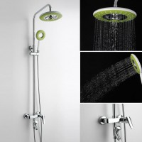 花洒套装88314节能全铜淋浴洁具绿色手持淋浴花洒套装卫浴