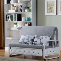 小户型布艺沙发床可拆洗折叠双人1.2 1.5米欧式客厅推拉沙发床