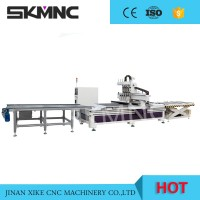 供应贵阳木工加工中心 板式家具生产线数控设备开料机