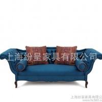 布艺沙发地中海欧式布艺沙发 123人布艺沙发地中海新款