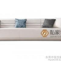顺德客厅家具定做厂家 现代布艺沙发定做 铭悦家具