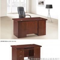 批发办公家具卓瑞电脑桌公司家用主管桌实木办公桌现代简约