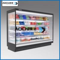 威海商用冰柜风幕柜保鲜柜冷藏风幕柜定制
