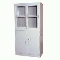 福建办公家具办公室文件柜铁皮柜资料柜档案柜财务凭证柜玻璃书柜带锁储物柜子