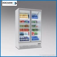 临汾冷藏柜**展示柜冷藏柜冰柜商用立式冰箱展示柜 饮料柜
