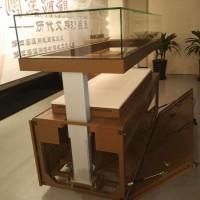 华艺恒辉 电动展示柜博物馆古董瓷器展示柜透明 电动开门展示柜**陈列柜 定制柜