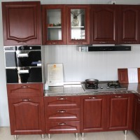 德尔诺 山东厂家定做不锈钢整体橱柜 不锈钢整体橱柜价格  不锈钢橱柜 环保橱柜套装