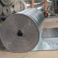 铝膜隔热复合材料 供应屋顶墙体 保温气泡膜 包装材料气泡