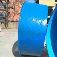 信阳万诚 玻璃钢鱼池 玻璃钢养殖设备 玻璃钢水产设备 支持定制