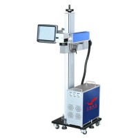 激光打标机 光纤飞行激光打标机 管子激光打标机  塑料管件激光打标机