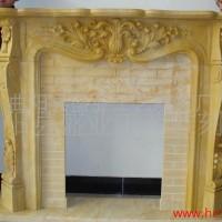 供应盛业雕刻大理石欧式家居壁炉