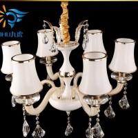 led客厅吸顶灯长方形餐厅吊灯欧式蜡烛水晶吊灯 直销特价灯具