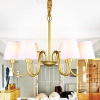 汉斯威诺美式乡村吊灯欧式客厅灯复古地中海田园卧室书房餐厅灯具