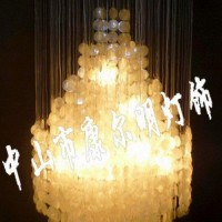 吊灯畅销灯饰天然贝壳现代简约时尚经典卧室客厅餐厅过道灯KMD