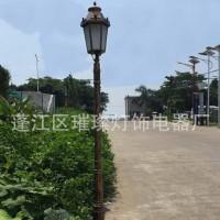 璀璨CC-122  led欧式庭院装饰路灯 欧式led太阳能庭院灯