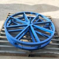 【刻发】槽钢放线盘厂家销售1-8吨电缆放线盘 光缆放线盘 导线轴支架 钢绞线盘支架