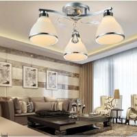 LED吸顶灯现代简约客厅玻璃灯罩 卧室灯创意餐厅书房灯具 MT-025