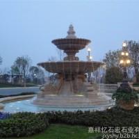 【忆石宏石业】供应石雕水景喷泉 大理石人物喷泉 直销花园广场音乐喷泉