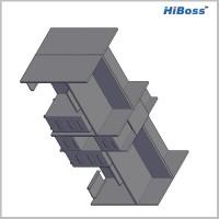 Hiboss 特价上海办公家具 屏风隔断工作位 员工位促销 屏风办公桌