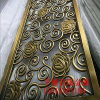 郑州不锈钢屏风 古铜不锈钢屏风 千锤百炼厂家定制