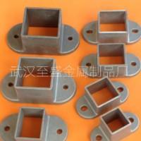 锌钢护栏配件 阳台护栏铸铝底座 护栏压铸铝连接件