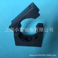 软管固定支架AD10 PA/PP/PE浪管支架 带盖/不带盖波纹管固定座