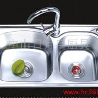 供应厂家供应 厨房水槽双槽 H-7039 不锈钢水槽洗菜、洗涤槽