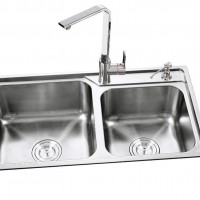 TDO7742 201 一体拉伸不锈钢水槽 不锈钢菜盆 整体