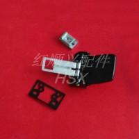 工业设备红顺兴侧装门把手,试验箱把手拉手,烘箱小门锁HS-100-1锁