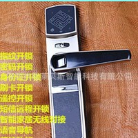 指纹门锁防盗门指纹锁密码锁刷卡锁远程**的电子锁