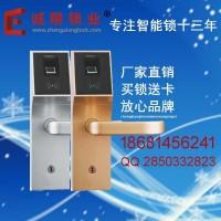 深圳诚翔利源厂家特价出售6030指纹锁智能锁家用电子门锁刷卡IC锁