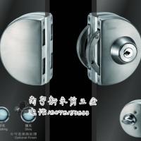 广西供应即施妥JUSOR玻璃门锁半圆双边加手动JU-W506