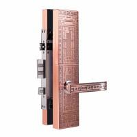高域GY-9008 指纹锁密码锁滑盖锁家用智能锁防盗门锁遥控智能锁厂价直销